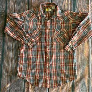 Vintage Southern Classics Plaid Shirt